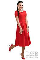 """Красное женское платье """"Dance"""""""