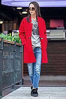 Пальто Беатріс червоне, фото 1