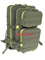 Рюкзак 40 ритров Brandit US Cooper large 2-color Oliv/yellow, 8025O-Y