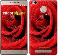 "Чехол на Xiaomi Redmi 3x Красная роза ""529c-441"""