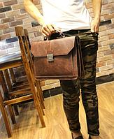 Чоловічий шкіряний портфель Модель - 2161, фото 2