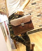 Чоловічий шкіряний портфель Модель - 2161, фото 3