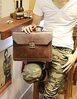 Чоловічий шкіряний портфель Модель - 2161, фото 7