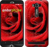 "Чехол на Asus Zenfone 3 ZE520KL Красная роза ""529c-449"""