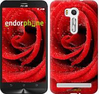 """Чехол на Asus Zenfone 3 Max ZC520TL Красная роза """"529c-442"""""""