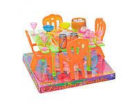 """Детский игровой набор """"Столовая"""" - стол, стулья, столовые приборы, A8-67"""