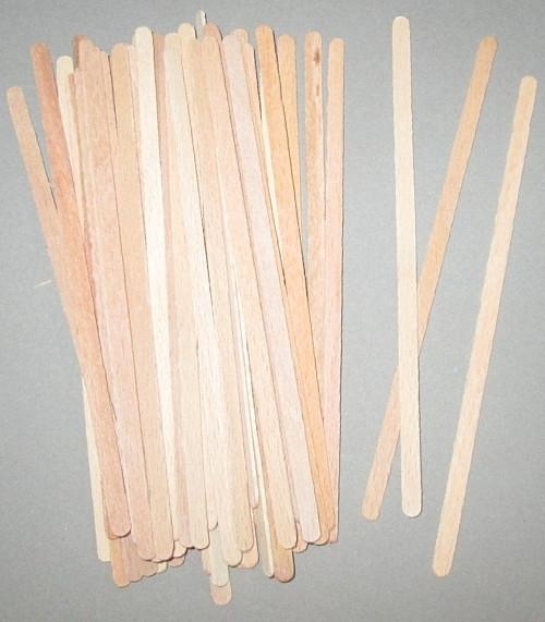 Дерев'яні палички 14 см - 50 шт.