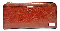 Женский кошелек BALISA на кнопках коричневого цвета DTO-005566