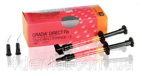 GRADIA DIRECT Flo шприц 1.5г 2шт AO3 NaviStom