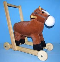 Музыкальная лошадка-каталка