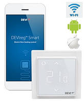 DEVIreg Smart - многофункциональный интеллектуальный смарт регулятор с Wi-Fi модулем Pure White
