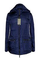 Женская куртка больших размеров с капюшоном / Жіноча куртка великих розмірів