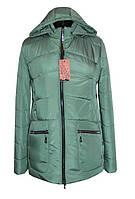 Мятная утепленная куртка / М'ятна утеплена куртка