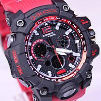 Часы наручные G-SHOCK красный ремень, фото 1