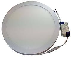 Светильник накладной круглый LED-PANEL-24 220mm aluminium 1920Lm 4100K IP20