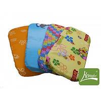 Мягкий матрасик в детскую коляску, 35х80х3 см (поликоттон, поролон) ТМ Хомфорт 4 цвета