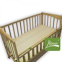 Простынь на резинке в детскую кроватку (80 х 140 см,  ранфорс) ТМ Комфорт