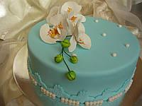 Праздничный торт для женщины на заказ в Днепре