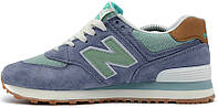 Женские кроссовки New Balance Buty 574 Beach Cruiser Pack Blue