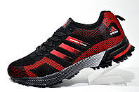 Кроссовки для бега Adidas Marathon Flyknit 2 (Black, Red)