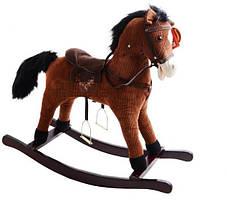 Лошадка качалка со звуковыми эффектами