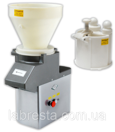 Машина для переработки овощей Торгмаш МПО-1 (нарезка+протирка, 12 дисков)
