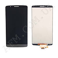 Дисплей (LCD) LG D855/  D858/  D859 Optimus G3 с сенсором серый оригинал