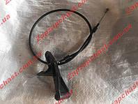Трос привода замка капота Заз 1103 1102 славута таврия тяга-проволока (широкая ручка люкс) 1102-8406140, фото 1