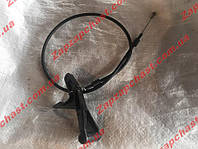 Трос привода замка капота Заз 1103 1102 славута таврия тяга-проволока (широкая ручка люкс) 1102-8406140