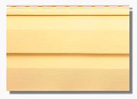 Сайдинг Альта Канада Престиж Желтый 3,66*0,23