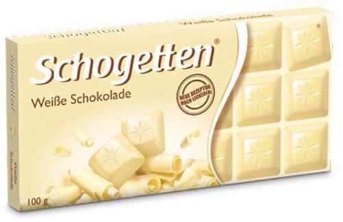 Белый шоколад Schogetten White Chocolate, 100 г