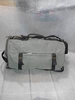 Сумка-рюкзак 2 в 1  брезент