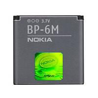 Аккумулятор Nokia BP-6M, 3250, 6151, 6233, 6234, 6280, 6288, 9300, 9300i, N73, N93