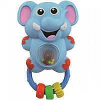 Погремушка Слонёнок PL-310547А музыкальная Baby Mix