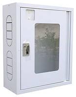 Шкаф пожарный 600х600х230 белый в Одессе/без задн.стенки/металл 0,55 мм