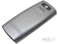 Задняя часть корпуса (крышка аккумулятора) Nokia X2-05 Original Silver
