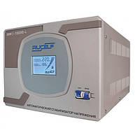 Однофазный релейный повышенной точности стабилизатор напряжения RUCELF SRF II-12000-L
