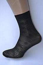 Носки капроновые с узором