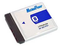 Аналог Sony NP-BD1/FD1 (MaximalPower 1000mAh). Аккумулятор для Sony DSC-T75/T77/T300/T700 и пр.