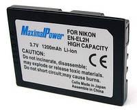 Аналог Nikon En-El2 (MaximalPower 1200mAh). Аккумулятор для Nikon Coolpix 2500, 3500, SQ