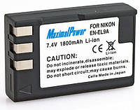 Аналог Nikon En-El9/En-El9a (MaximalPower 1800mAh). Аккумулятор для Nikon D40, D60, D3000, D5000