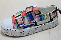Кеды на липучках криперы для девочки с рисунком тм Том.м р.25,26,29,30