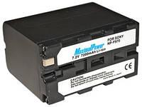 Аналог Sony NP-F970 (MaximalPower 7200mAh). Аккумулятор для Sony HDR-FX1/FX7, HVR-V1U/Z7U, DCR-TR8100/VX2100 и др.
