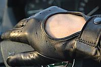 Перчатки водительские кожа Италия 8