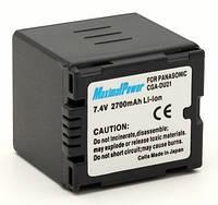 Аналог Panasonic CGA-DU21 (MaximalPower 2700mAh). Аккумулятор для Panasonic NV/PV/SDR/VDR серии