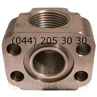 Резьбовой фланец 90°, 5548-02, фото 1