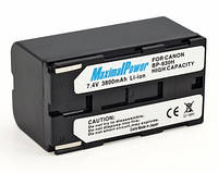 Аналог Canon BP-930 (MaximalPower 3800mAh). Аккумулятор для Canon ES, GL, UC, XL серий