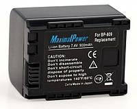 Аналог Canon BP-809 (MaximalPower 900mAh). Аккумулятор для Canon HF10, FH100, HG20, HG30 и пр.