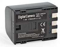 Аналог Canon NB-2L14 (ElectroMex 1700mAh). Аккумулятор для Canon Elura, Optura, MV, ZR и др. серий