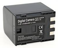 Аналог Canon NB-2L22 (ElectroMex 2100mAh). Аккумулятор для Canon Elura, Optura, MV, ZR и др. серий